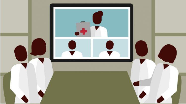 Telementoring para abordar casos de psoriasis