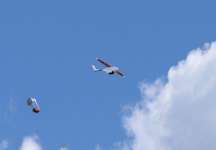 uso sanitario de drones