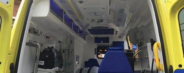 ambulancias con cámara en Dinamarca