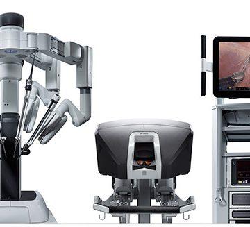 robot da vinci y cirugía robótica