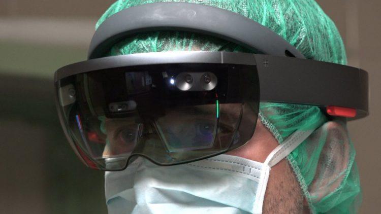 hologramas en el quirófano