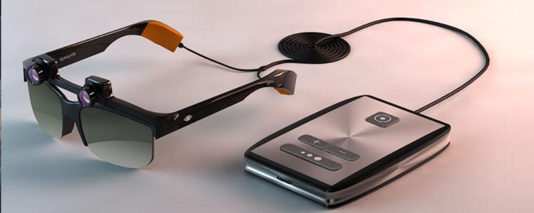 gafas para ver a través del oído