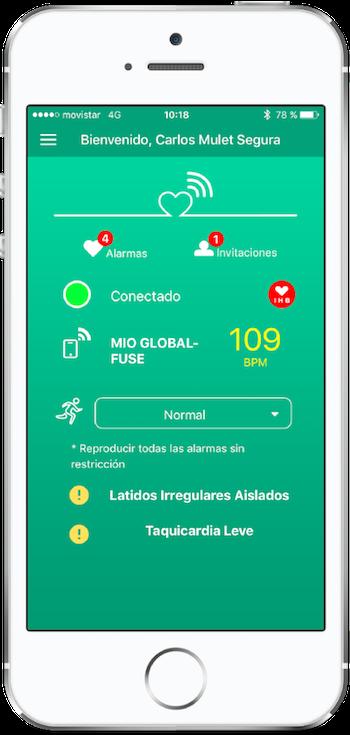 app detectar arritmias