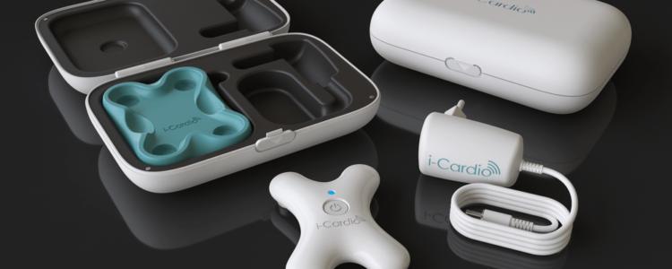 electrocardiógrafo digital más pequeño del mundo
